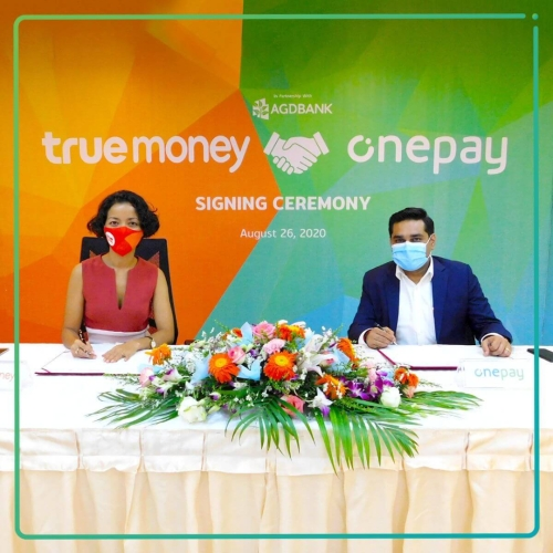 Onepay announces partnership with TrueMoney