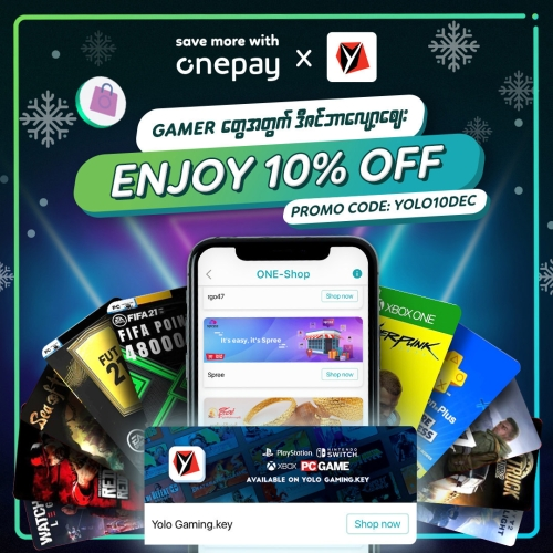 10% OFF for Yolo Gaming.key under ONE-Shop
